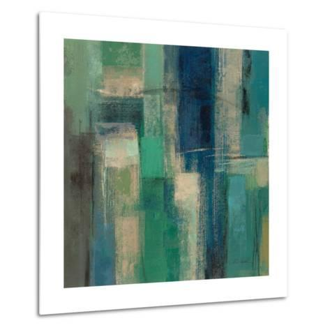 Emerald Fields Square I-Silvia Vassileva-Metal Print