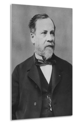 Portrait of Louis Pasteur-Pierre Petit-Metal Print