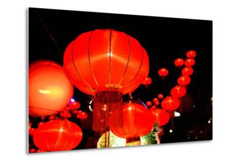 Chinese New Year Festival-bunyarit-Metal Print