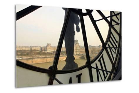 Clock-fotomem-Metal Print