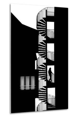 Silhouette-Massimo Della-Metal Print