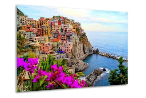 Cinque Terre, Italy-Jeni Foto-Metal Print