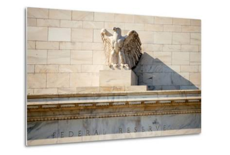 Federal Reserve Building-Tarch-Metal Print