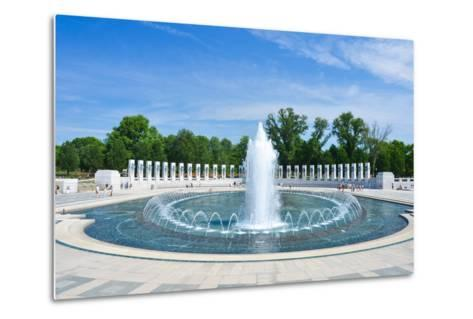 Washington DC - World War II Memorial-Orhan-Metal Print