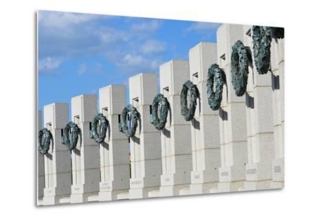 Washington DC - World War II Memorial-Orhan-Metal Print