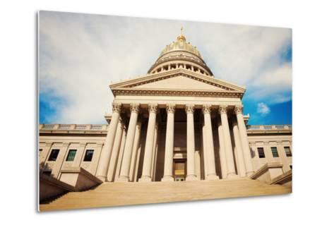 Charleston - State Capitol Building-benkrut-Metal Print