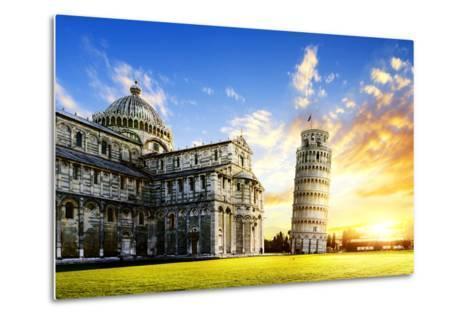 Pisa City-vent du sud-Metal Print