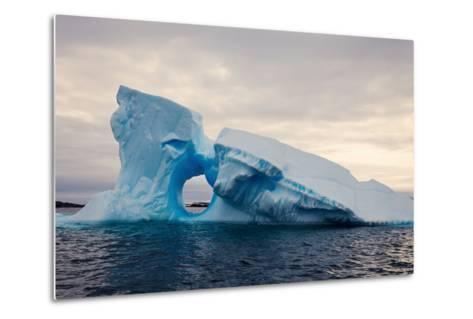 Iceberg - Antarctica-benkrut-Metal Print