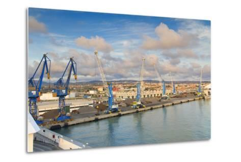 Port of Civitavecchia-lachris77-Metal Print