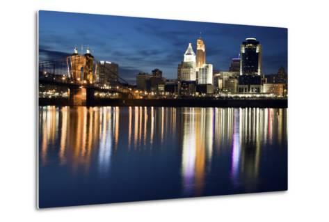 Cincinnati-benkrut-Metal Print