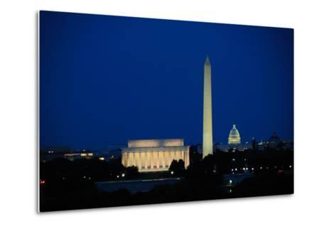 Washington DC Skyline-Matthew Carroll-Metal Print
