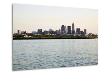 Late Afternoon in Downtown Cleveland-benkrut-Metal Print