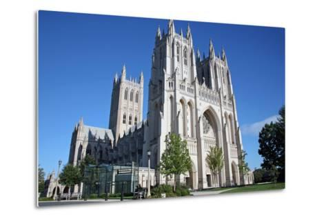 National Cathedral in Washington DC at Sunset-Dan Beards-Metal Print