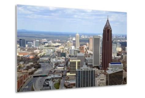 Aerial View of Atlanta, Georgia-bren64-Metal Print