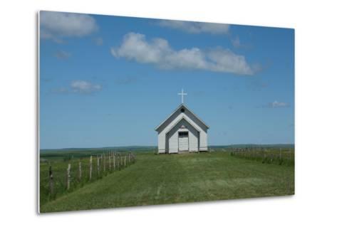 Prairie Church-Scottsanders-Metal Print
