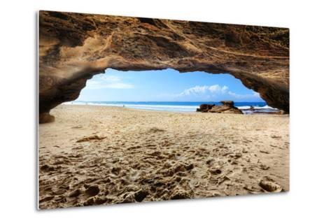 Caves Beach, NSW Australia-lovleah-Metal Print
