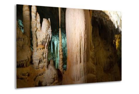 Stalactite Stalagmite Cavern-sergey02-Metal Print