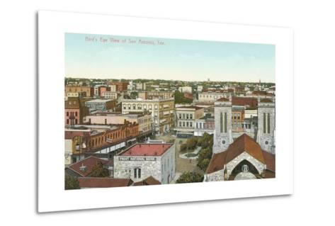 Overview of San Antonio--Metal Print
