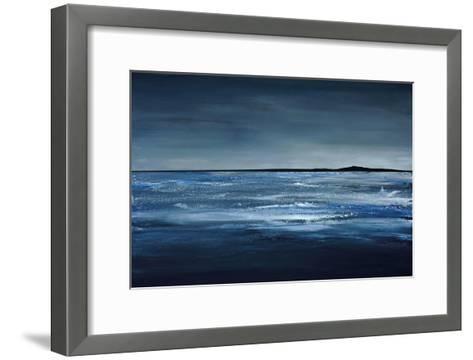 Blue Horizon-Earl Kaminsky-Framed Art Print