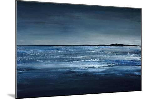 Blue Horizon-Earl Kaminsky-Mounted Art Print