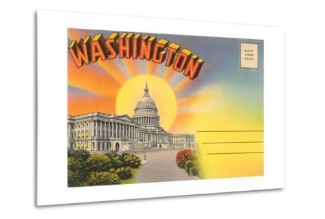 The Capitol Washington, DC--Metal Print