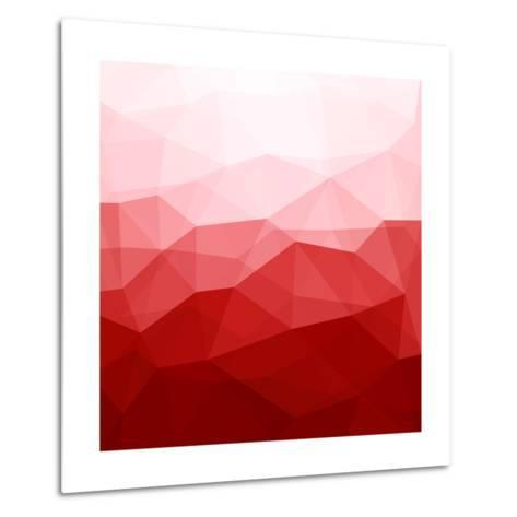 Abstract Red Background-epic44-Metal Print