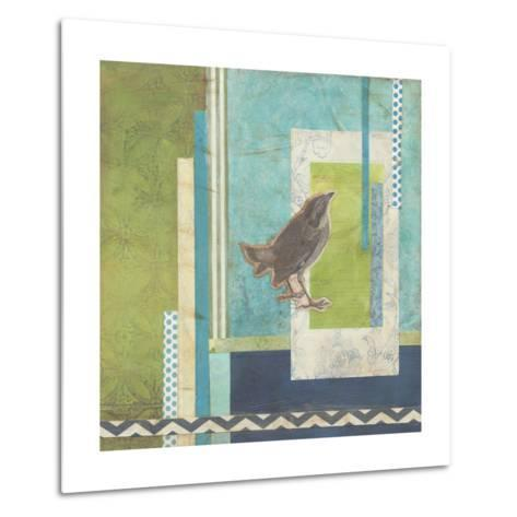 Avian Scrapbook II-Erica J^ Vess-Metal Print