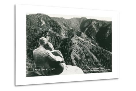 Huggins Hell, Great Smoky Mountains--Metal Print