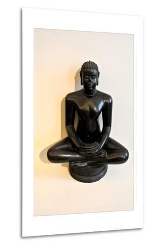 Buddha Statue--Metal Print