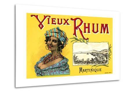 Vieux Rhum, Martinique--Metal Print