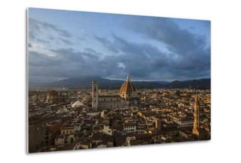 The Dome of the Cathedral of Santa Maria Del Fiore in Florence-Dave Yoder-Metal Print