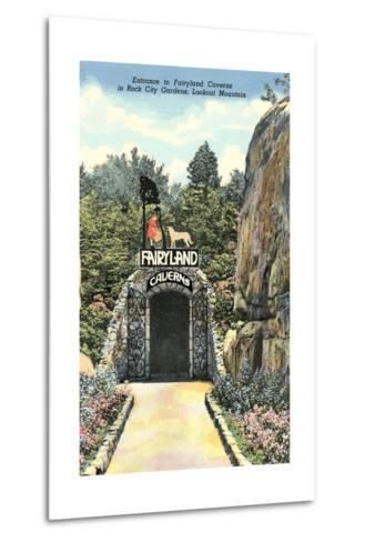 Fairy Land Caverns, Lookout Mountain--Metal Print