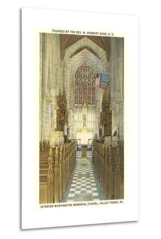 Memorial Chapel, Valley Forge--Metal Print