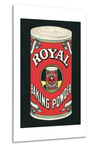 Royal Baking Powder Can--Metal Print