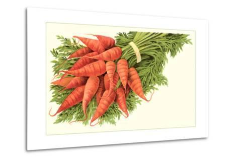 Bunch of Carrots--Metal Print