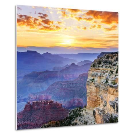 Grand Canyon-vent du sud-Metal Print