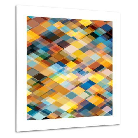 Abstract Geometrical Background-epic44-Metal Print