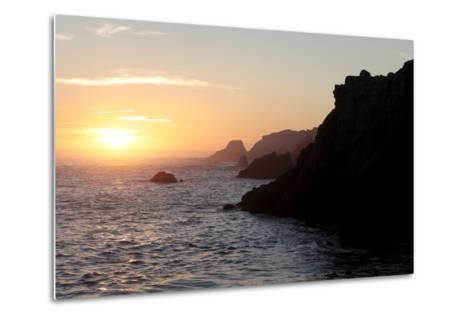 Point Lobos State Reserve Sunset-Dan Schreiber-Metal Print