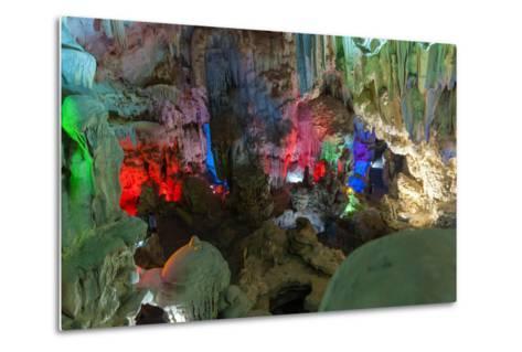 Cavern on Island, Ha_Long Bay, Vietnam-Maks08-Metal Print