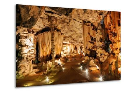 Limestone Cavern Formations-Four Oaks-Metal Print