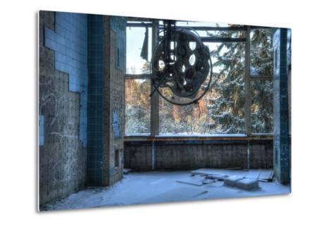 Abandoned Operating Theater in Beelitz-Stefan Schierle-Metal Print