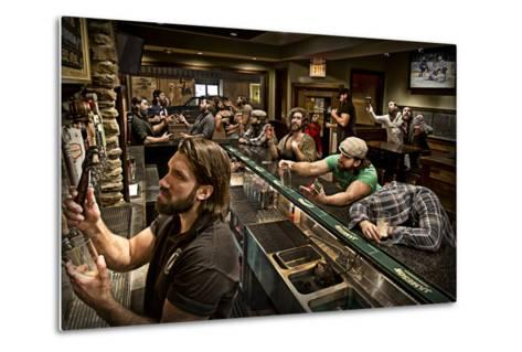 Happy Hour-Anthony Benussi-Metal Print