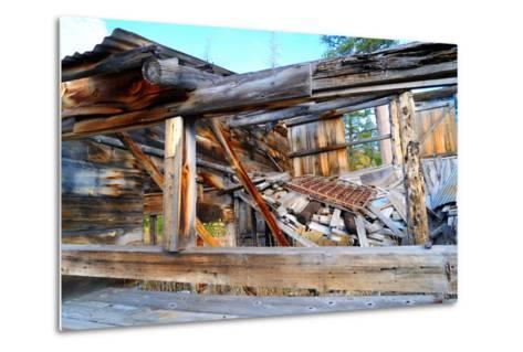 Old Decaying House-bendicks-Metal Print