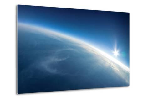 Near Space Photography - 20Km above Ground / Real Photo-dellm60-Metal Print