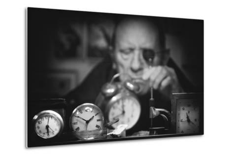 Search of the Perfect Time-Antonio Grambone-Metal Print