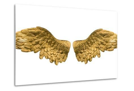 Raster Version of Golden Wings-Gilmanshin-Metal Print
