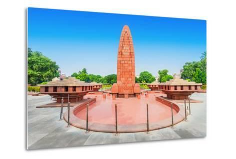 Jallianwala Bagh Memorial-saiko3p-Metal Print