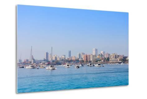 Mumbai Skyline-saiko3p-Metal Print