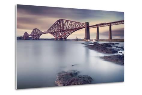 Forth Rail Bridge-Martin Vlasko-Metal Print