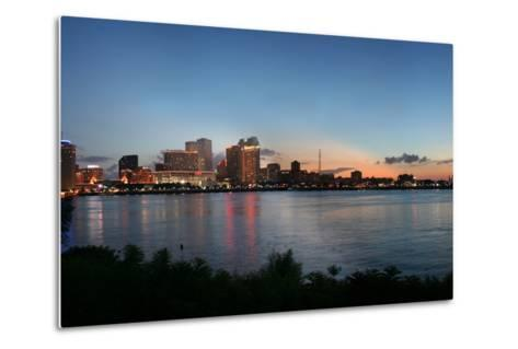 New Orleans Cityscape at Sunset-jpegisclair-Metal Print